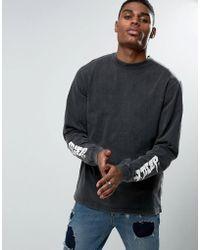 10.deep - Long Sleeve T-shirt With Sleeve Print - Lyst