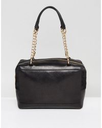 Urbancode - Handheld Bag With Chain Detail Handle - Lyst