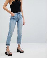Weekday - Seattle High Waist Mom Jeans - Lyst