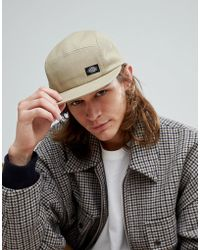 Dickies - Premont 5 Panel Baseball Cap In Stone - Lyst