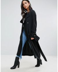 Cheap Monday - Flavor Tie Sleeve Trench - Lyst