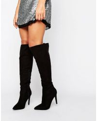 Little Mistress - Knee Boot - Lyst