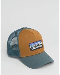 Patagonia - Logo Trucker Cap In Brown - Lyst