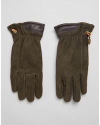 Timberland | Nubuck Boot Leather Glove In Brown | Lyst