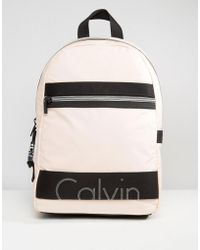 CALVIN KLEIN 205W39NYC - Exclusive Re-issue Coated Jersey Backpack - Lyst