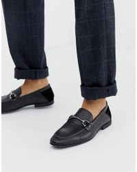 KG by Kurt Geiger Kg By Kurt Geiger Loafers In Black Leather With Snaffle Detail