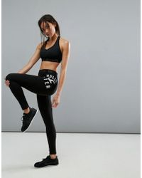 Hollister - Active Logo Waist Band Legging - Lyst