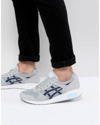 Asics - Lyte Trainers In Grey H8k2l-9658 - Lyst