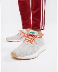 new concept 15659 91b5c adidas Originals - Swift Run Summer Trainers In White Cq3085 - Lyst