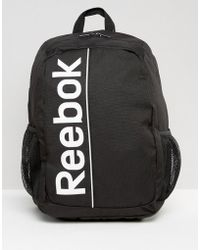 Reebok - Backpack In Black S23041 - Lyst
