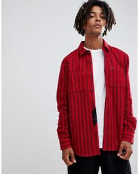Volcom - Shader Flannel Shirt - Lyst