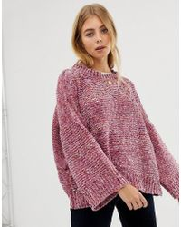 Raga - Karlie Relaxed Supersoft Knit Jumper - Lyst