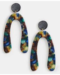 Nylon - Resin Drop Earrings - Lyst