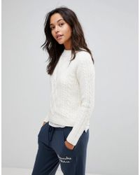Abercrombie & Fitch - Knitted Turtleneck Jumper - Lyst