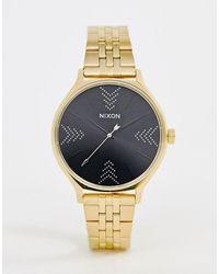 Nixon Часы Clique 38 Мм - Золотой - Многоцветный