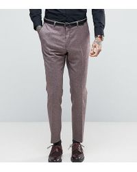 Heart & Dagger - Skinny Trousers In Tweed - Lyst