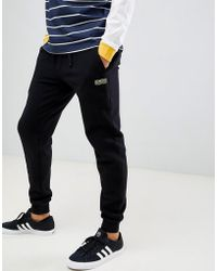 Barbour - Sport Track Sweat Joggers In Black - Lyst