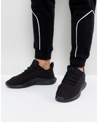 lyst adidas originali stan smith formatori in nero s80023 in nero