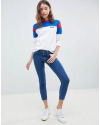 Lee Jeans - Lee Scarlett Cropped Skinny Jeans - Lyst