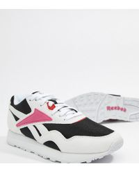 Reebok - Exclusive To Asos Rapide Trainers In Black And Pink - Lyst