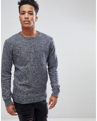 French Connection - Melange Fleck Knitted Sweater - Lyst