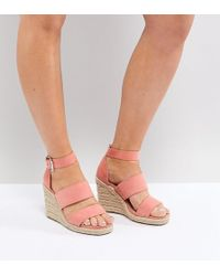 ASOS - Asos Taffy Wide Fit Espadrille Wedges - Lyst