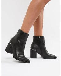 ASOS - Ebele Pointed Ankle Boots - Lyst