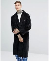 Ben Sherman - Fleece Robe - Lyst