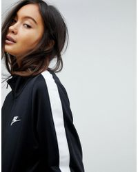 Nike - Classic Track Jacket In Black - Lyst
