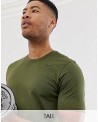 bbf311ee6 Nike Club Swoosh T-shirt In Green 827021-395 in Green for Men - Lyst