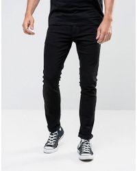 Nudie Jeans - Tight Long John Skinny Jeans Black Wash - Lyst