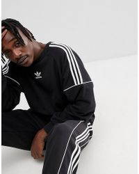 adidas Originals - Nova Retro Sweatshirt In Black Ce4832 - Lyst