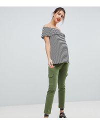Isabella Oliver - Stretch Cargo Trousers - Lyst