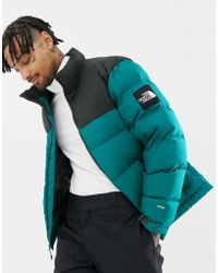 The North Face - 1992 Nuptse Jacket In Everglade Green - Lyst