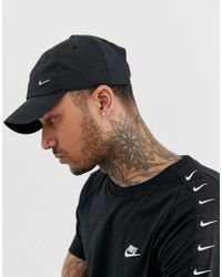 3c38593b670 Nike Swoosh Cap 546126-010 in Black for Men - Lyst