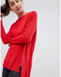New Look - High Neck Jumper - Lyst