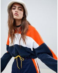0a64b972ea1af The Ragged Priest - Cropped Fleece With Half Zip - Lyst