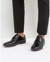 Call It Spring - Huttner Toe Cap Shoes In Black - Lyst