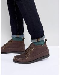 Eastland - Seneca Leather Boots In Brown - Lyst