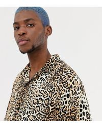 Collusion - Digital Print Leopard Shirt - Lyst