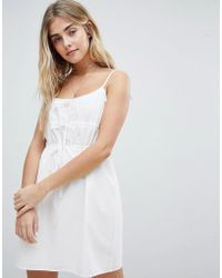 Honey Punch - Cami Sun Dress With Gathers - Lyst