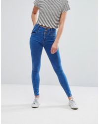 New Look - Soft Skinny Jeans - Lyst