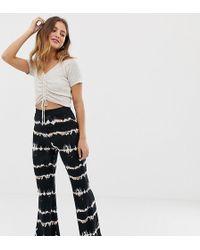 Bershka - Pantalon ajust effet tie-dye - Lyst
