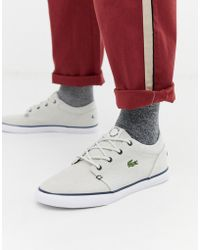 5dce6989a26b7f Lacoste Light Runner Trainers in White for Men - Lyst