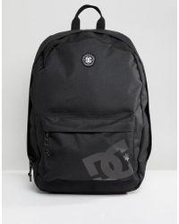 DC Shoes - Backstack Backpack In Black - Lyst