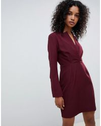 UNIQUE21 - Unique 21 Tailored Dress With High Collar - Lyst