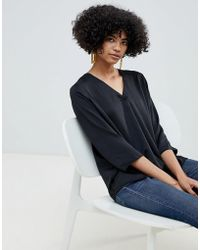 B.Young - V Neck Blouse - Lyst