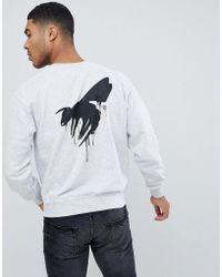Abuze London - Abuze Ldn Drip Wasp Back Print Sweater - Lyst