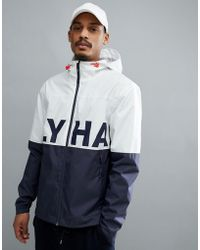 Helly Hansen - Amaze Logo Jacket In White/navy - Lyst