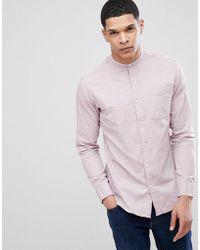 Jack & Jones - Premium Grandad Shirt In Slim Fit - Lyst